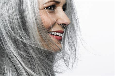 how to bring out gray in hair ditching dye how to go gray gracefully chicago tribune