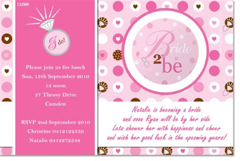 kitchen tea party invitation ideas cu589 bride to be rings hens night kitchen tea