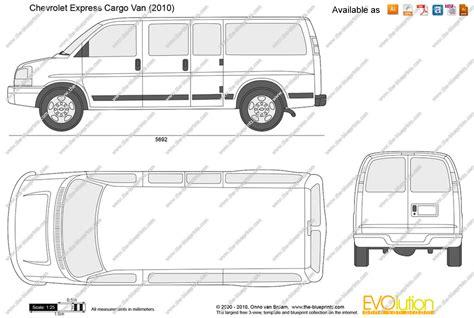 chevrolet express dimensions chevy astro dimensions autos weblog autos post