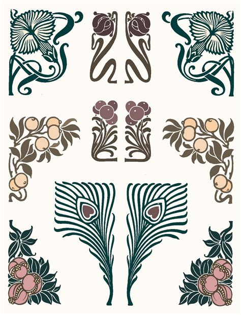 art deco tattoo design deco on nouveau nouveau