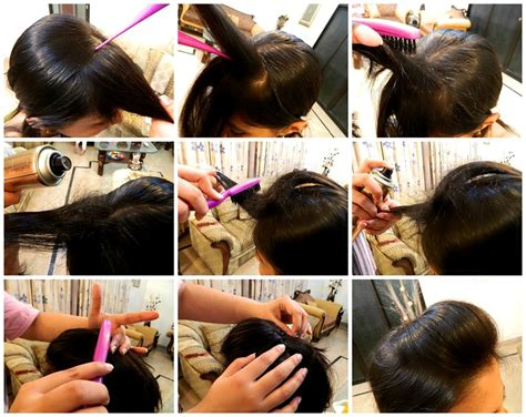 how to do a puff hairstyle steps by step the gallery for gt how to make puff hairstyle at home