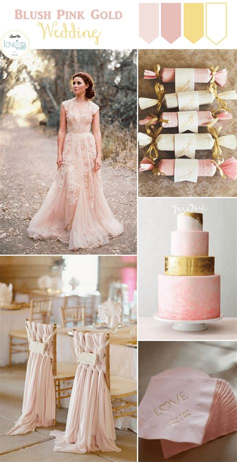 rose themed wedding dress blush pink gold wedding inspiration knotsvilla