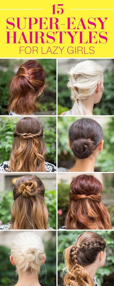 Hairstyles That Are Easy by 15 Easy Hairstyles For In 2016 Three Step