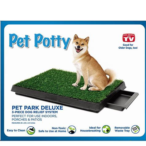 Pet Toilet by Toilet Pet Loo Dunny System Indoor Patio Use