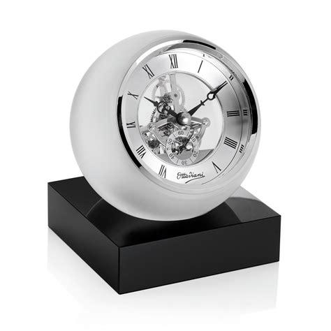 orologio da tavolo ottaviani 29791 orologio da tavolo in cristallo diametro cm 13 cm