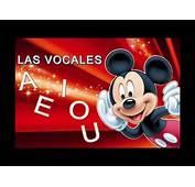 Mickey Mouse Y Las Vocales  YouTube