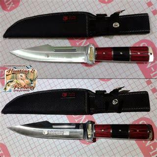 Pisau Columbia A15 perlengkapan berburu aneka pisau berburu