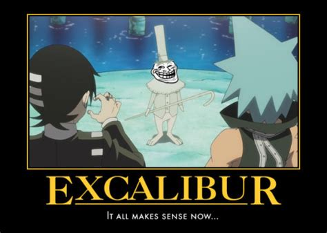 Excalibur Meme - excalibur meme 28 images soul eater cat girl