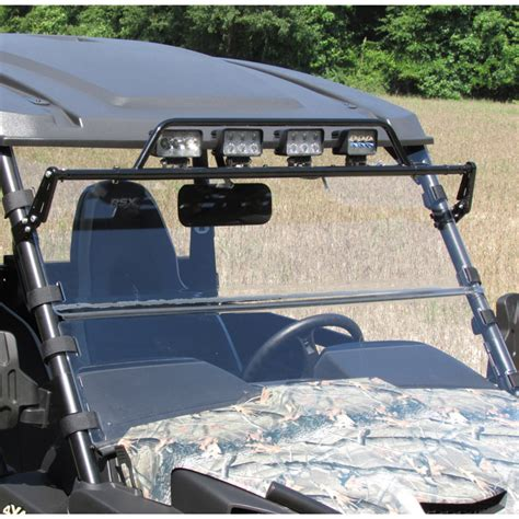 Windshield Acrylic versashield quot 3 in 1 quot acrylic windshield for mid size deere gators