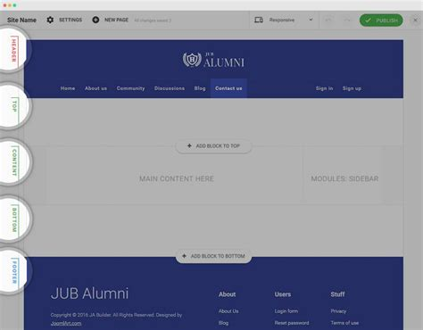 joomla template layout builder ja builder joomla templates and extensions provider