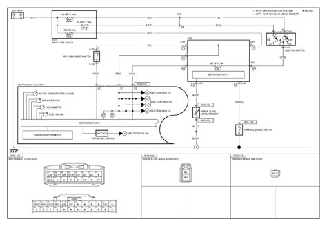 mazda 3 instrument cluster wiring diagram 28 images