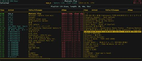 video playlist layout arch linux ncmpcpp playlist library layout super user
