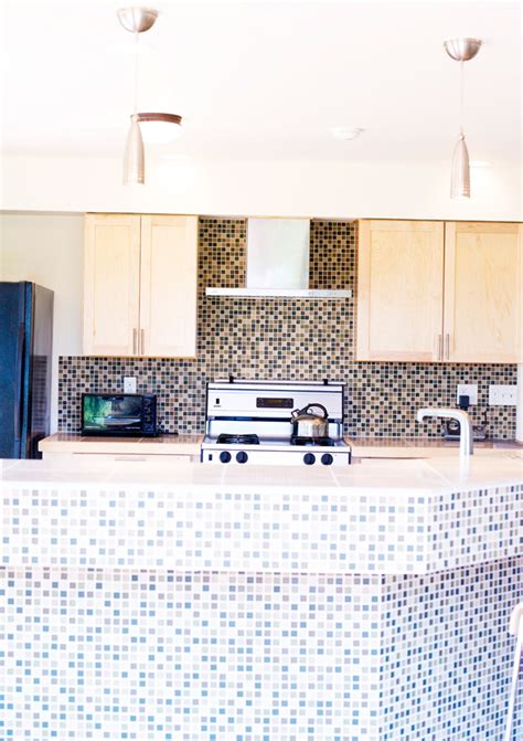 tile on kitchen island brenner remodeling kitchen gallery 8