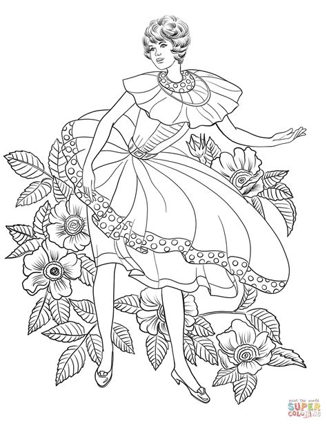 50 Coloring Page by In 50 S Coloring Page Free Printable Coloring Pages