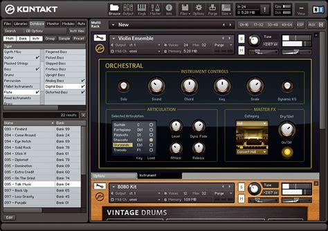 kontakt player full version download kvr native instruments releases absynth 5 guitar rig 4