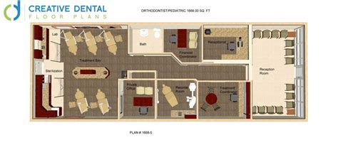 Orthodontic Office Design Floor Plan by Creative Dental Floor Plans Orthodontist Floor Plans