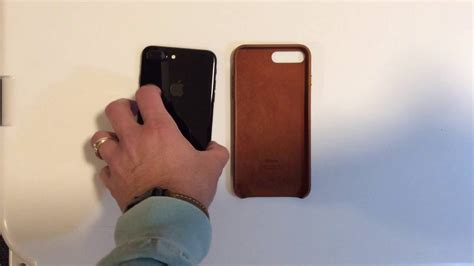 Apple Leather Iphone 7 Black apple leather saddle brown for iphone 7 plus jet