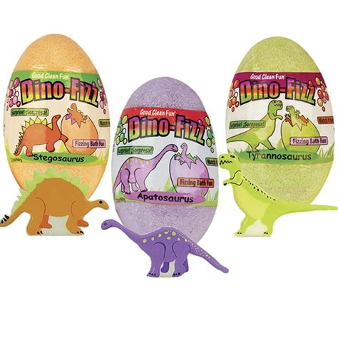 Dinoplatz Bath Time For Dino dino egg bath bomb fizzy for value pack smith