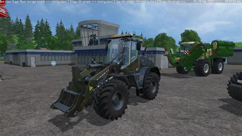 Unique Handmade Ls Liebherr L538 Custom Camo And Shovel V1 0 Ls 15 Farming Simulator 2015 15 Mod