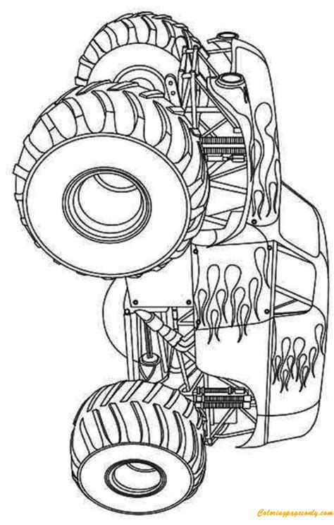 hot wheels monster truck coloring pages hot wheels monster truck coloring page free coloring