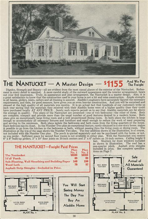 Colonial Style Home Plans 1931 Colonial Revival Single Story Cottage Aladdin