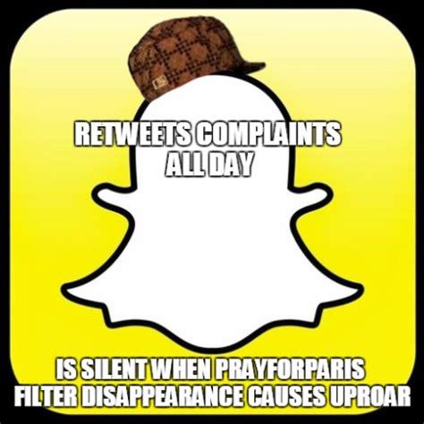 Snapchat Meme - the snapchat pray for paris filter