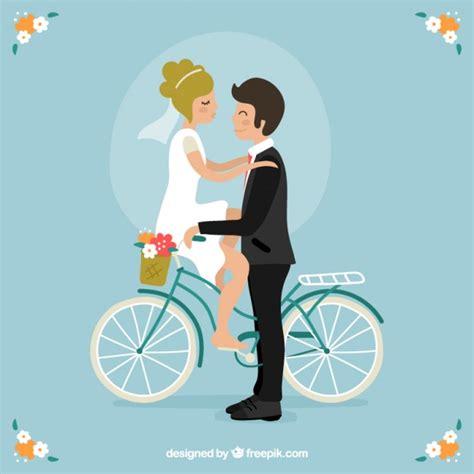 imagenes romanticas de parejas en bicicleta bonita pareja de novios en una bicicleta descargar
