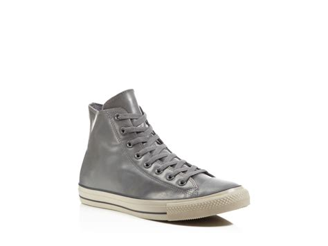 converse all high top sneakers converse all rubber high top sneakers in gray for