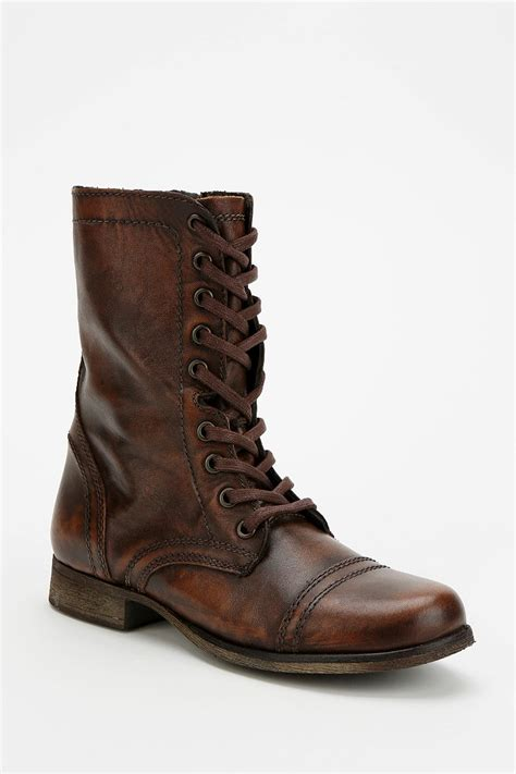 steve madden troopa mens boots steve madden troopa lace up boot outfitters
