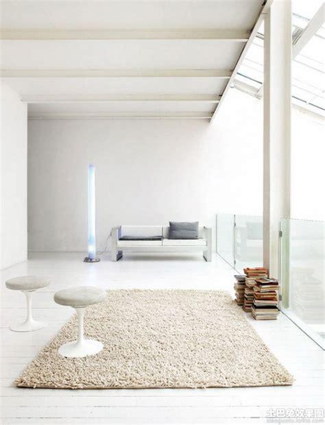 极简主义客厅地毯图片 土巴兔装修效果图