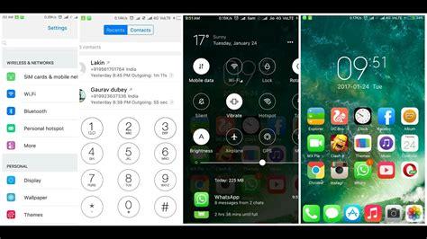 themes status bar iphone 5 best miui 8 setup 2017 iphone like transperent status
