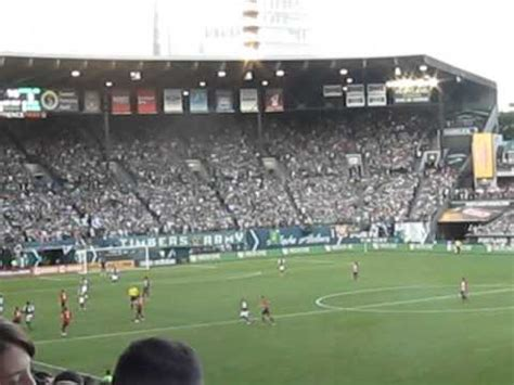 Timbers Army Section by Portland Timbers In At Providence Park