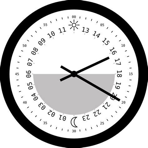 printable 24 hour clock printable analog clock face clipart best