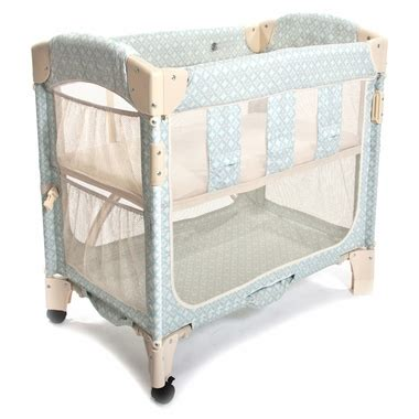 arm s reach concepts mini arc co sleeper print without
