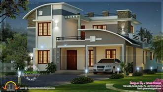 Home Design Ideas Elevation by Modern Beautiful Home Kerala Home Design And Floor Plans