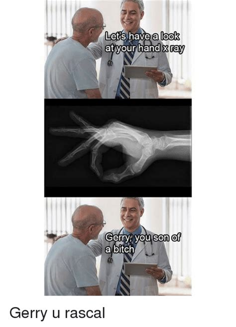 Son Of A Bitch Meme - 25 best memes about x ray x ray memes