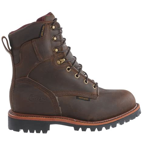 for boots chippewa bay steel toe work boots for