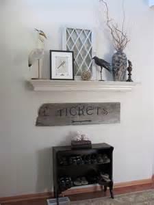 bright home diy mantel but no fireplace