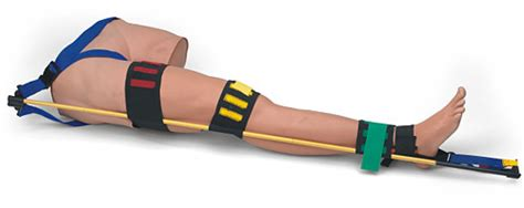 Traction Splint Trainer 031 simulaids traction splint trainer emergency products