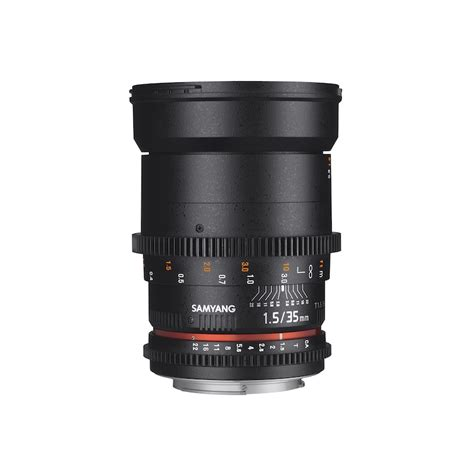 Samyang 35mm T1 5 Vdslr samyang 35mm t1 5 dubai samyang cine lens authorized uae