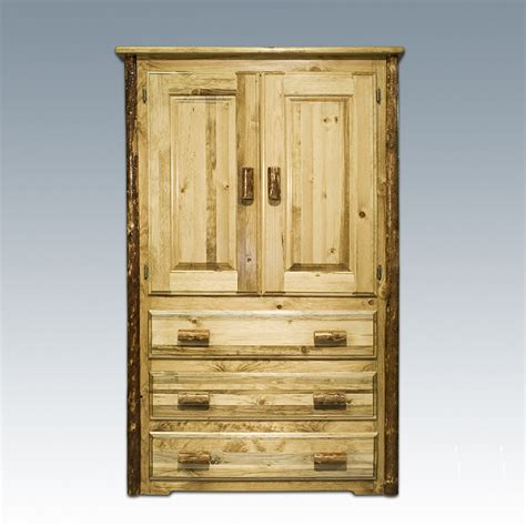 log armoire furniture gt bedroom furniture gt armoire gt log armoire