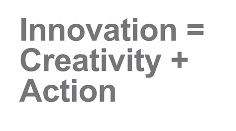 creativity and innovation innovation just thinking aloud