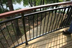 Patio Handrail by Deck Railing Ideas Related Keywords Amp Suggestions Deck