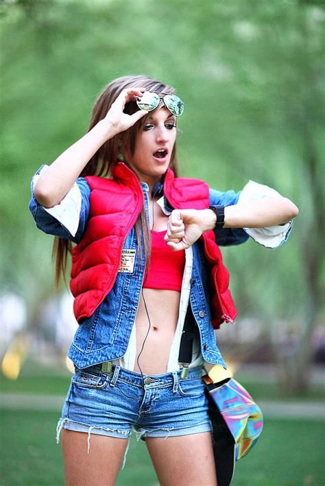 women s marty mcfly costume a tribute to girls who are doing cosplay properly