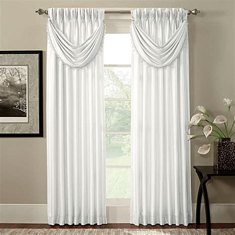 pinch pleat drapes bed bath and beyond argentina pinch pleat back tab interlined window curtain