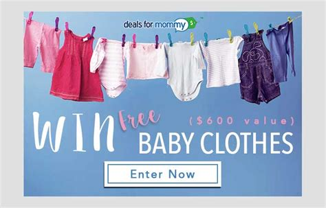 Baby Stuff Sweepstakes - win free baby clothes us only