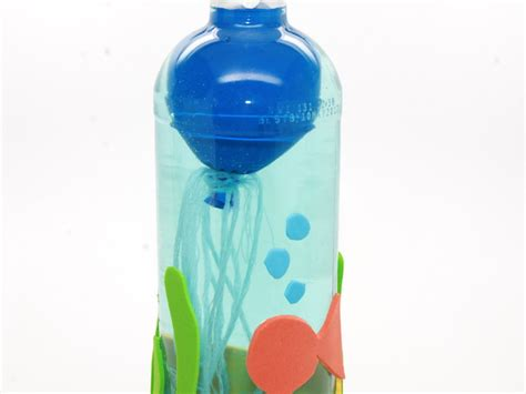 water bottle craft ideas for jellyfish in a bottle science experiment for
