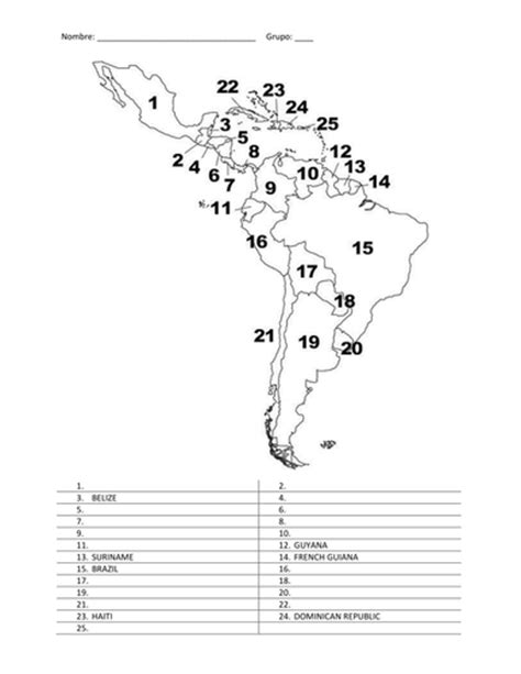 coloring page spanish speaking countries early years spanish teaching resources links to other