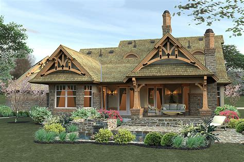 mission style house plans craftsman style house plans small