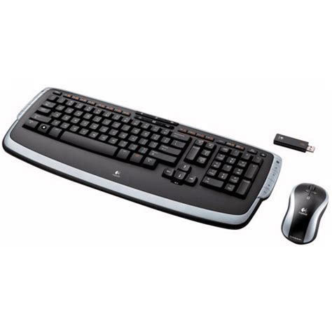 Keyboard Mouse Logitech Wireless Usb logitech cordless desktop lx 710 laser wireless 967670 0403